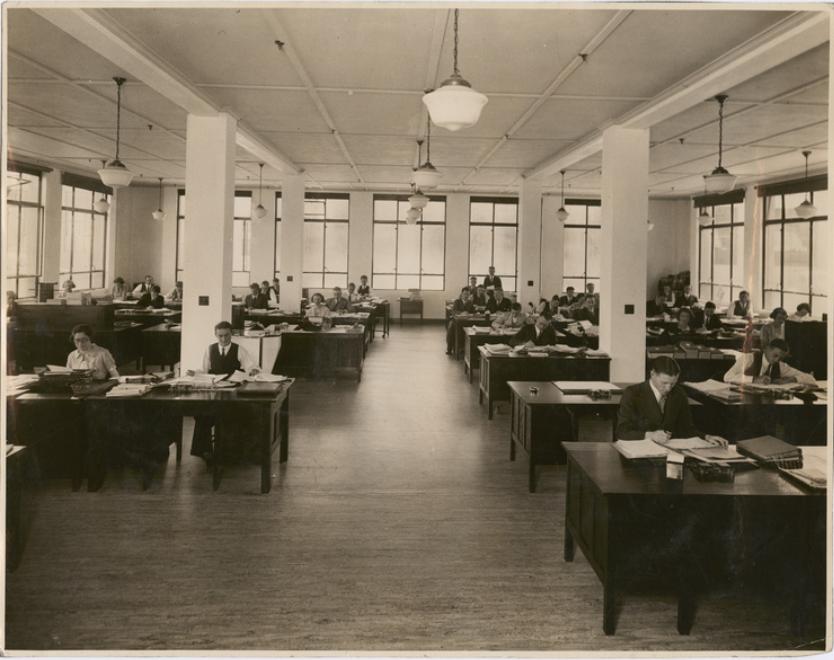 GMH Fishermans Bend - Administration Building Interior - c 1938
