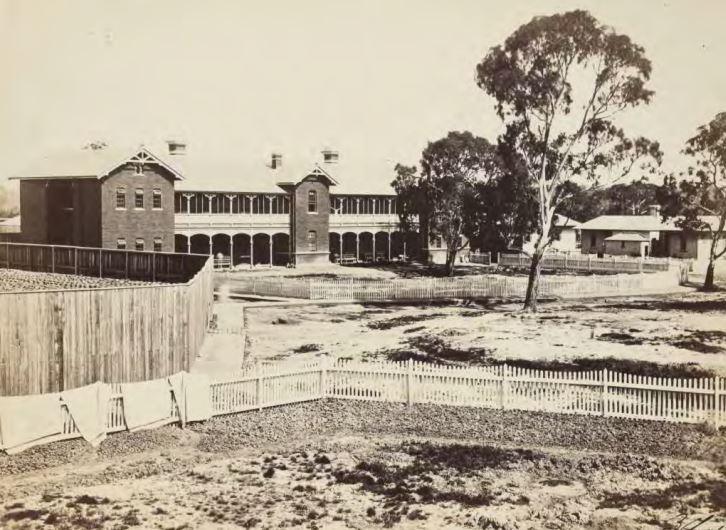 1861 - asylum infirmary