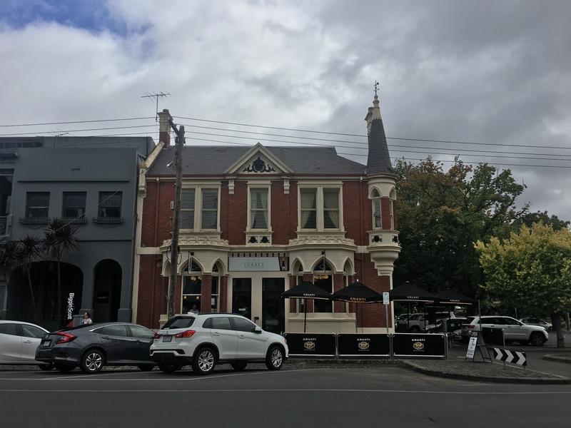 View from Sturt Street