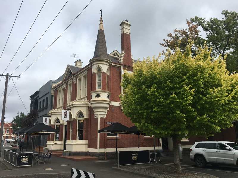 Corner Sturt Street Errard Street