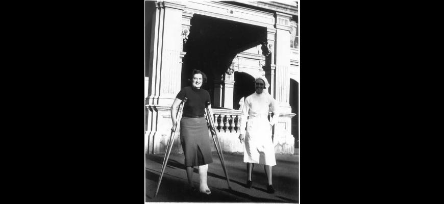1939 polio patient at Stonington